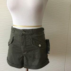Bebe Khaki Shorts